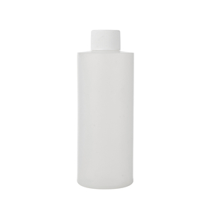 120ml 200ml 500ml Flat Round Plastic Bottle