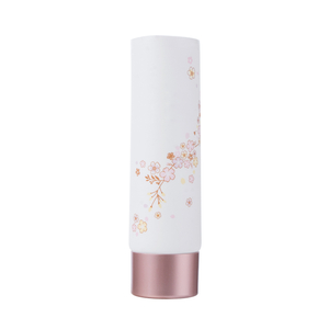 50ml Round Pink PE Cream Tubes with Screw Cap Empty Cosmetic Tube