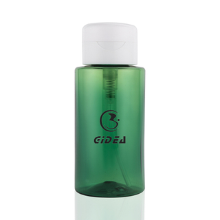 Low Price Transparent Green Color 250ml PET Empty Lotion Bottle Packaging