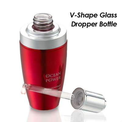 30ml 50ml 100ml Cosmetic Glass Bottle with Dropper