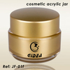 Gold Acrylic 50g Cosmetics Cream Jar