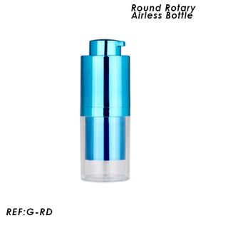 15ml 30ml 50ml Round Lifting Pump Bottle Jar Shapes