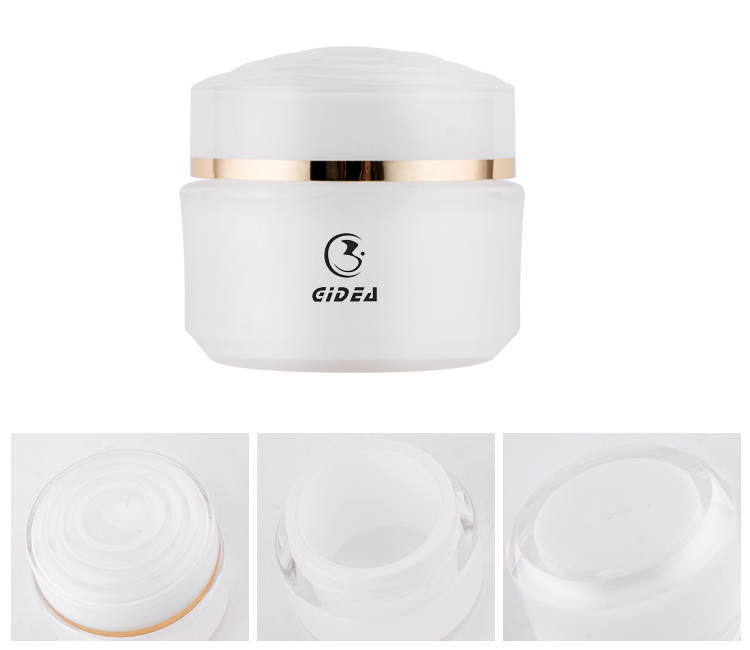 15g 30g 50g White PMMA Skin Care Cream Cosmetic Jar