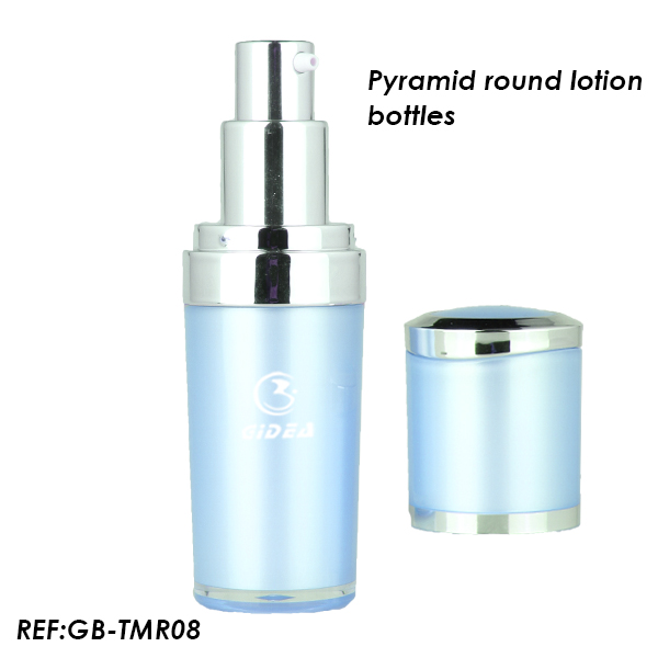 15ml 30ml 50ml Blue Plastic Cosmetic Packaging