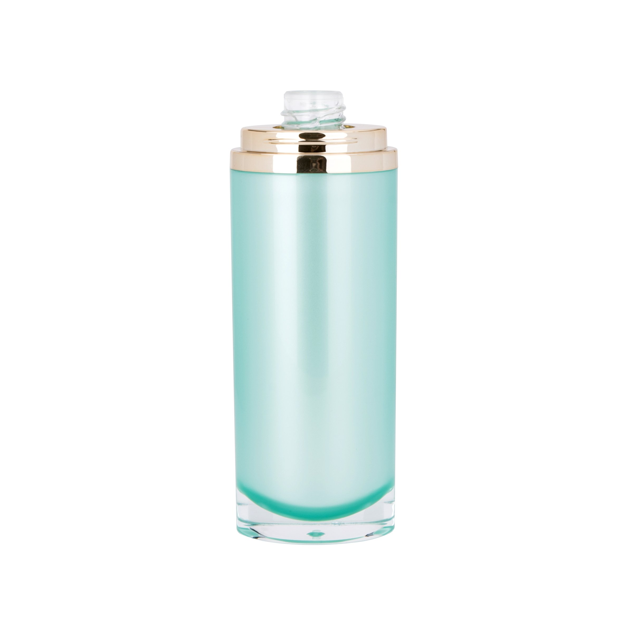 30Ml 50ml Oval Plastic Cosmetic Acrylic Bottle with Pump