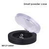 Small Empty Black Compact Powder Case