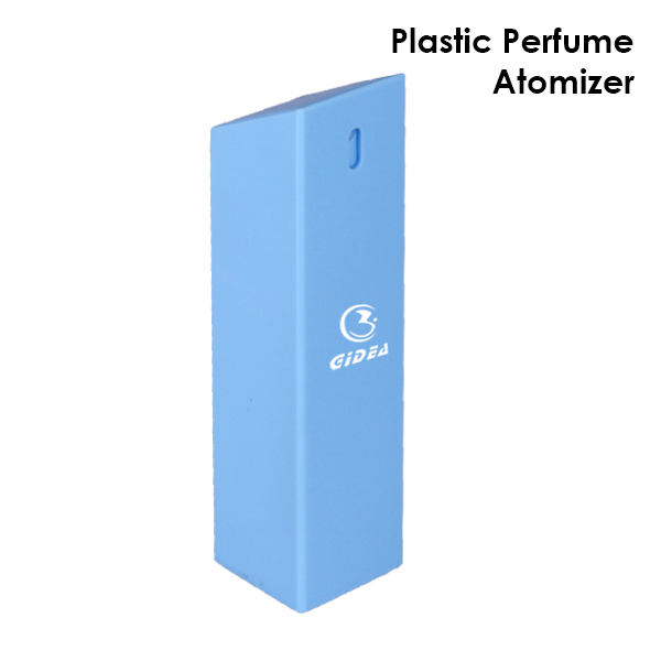35ml 40ml 45ml Square Shape Pp Blue Perfume Spary Bottle