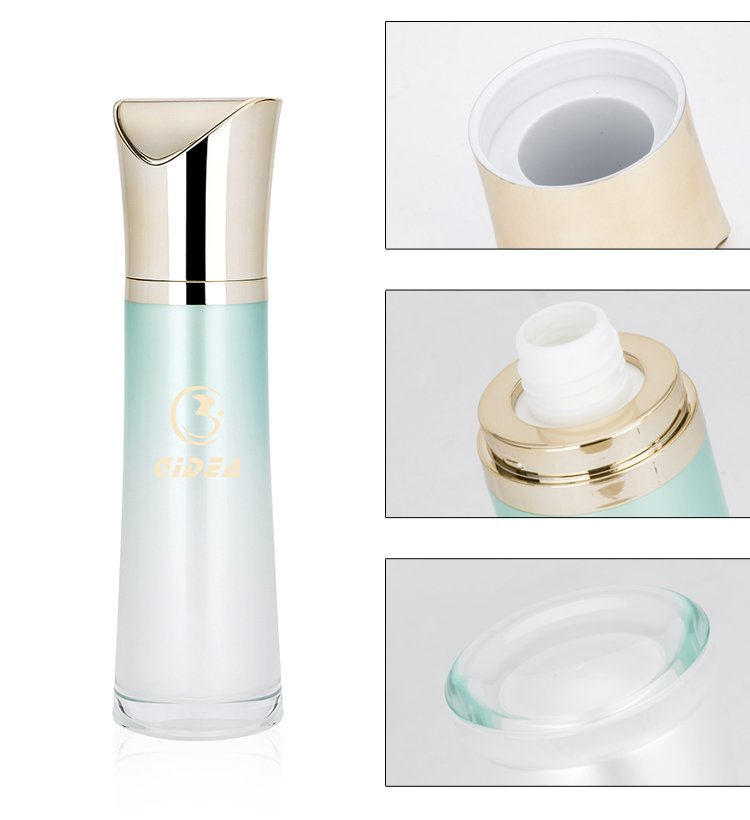 100ml Acrylic Lotion Pump Bottle With Distinctive Cap