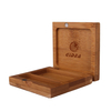 Square Bamboo Eyeshadow Case Bamboo Packaging