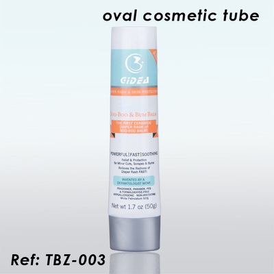 50g Sugarcane Cosmetic Oval Tube