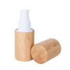 30ml 50ml Bamboo Cosmetic PET Pump Bottle
