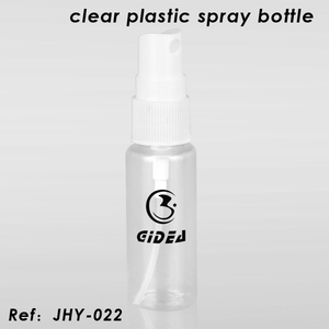Clear Plastic Spray Bottle
