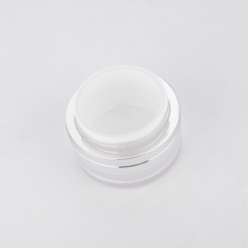30g 50g Pearl White Cosmetic Plastic Pots Packaging Jar