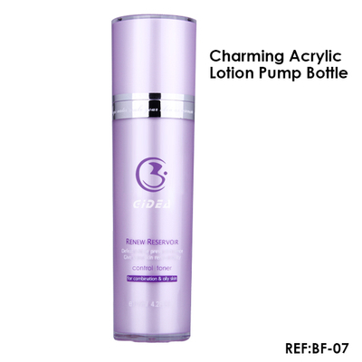 30ml 50ml 80ml 120ml V-Shaped Lotion Pump Bottle