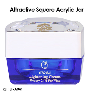 15ML 30ML 50ML Square Cosmetic Acrylic Container