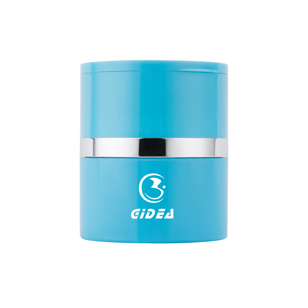 Blue Color 40g ABS Cream Jar Cosmetic Packaging