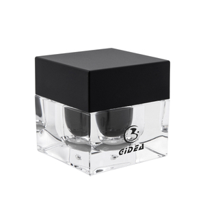 30g Black Cap Custom cosmetic Cream Sample Jar Pots