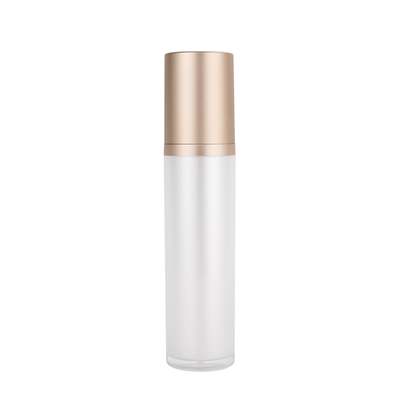 15ml 30ml 50ml 80ml 100ml 120ml Round Acrylic Plastic Cosmetic Bottle