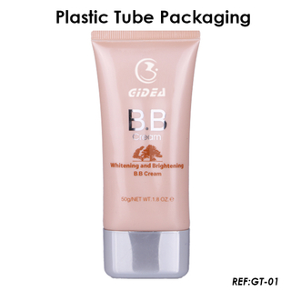 50ml Super Oval Plastic Cosmetic Packaging Tube For BB Cream Tube
