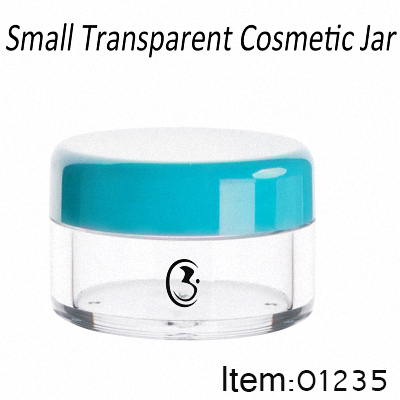 3g Transparent Plastic Jar Wholesale