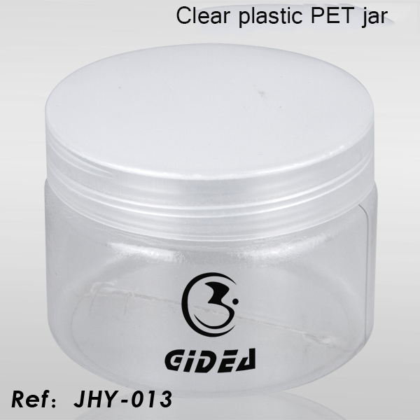Clear Plastic PET Jar