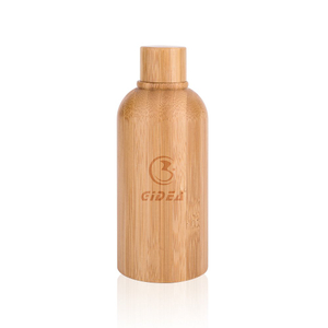 100ml Bamboo Glass Bottle with Bamboo Lid