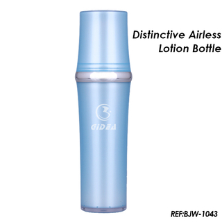 30ml 50ml blue Cosmetic Airless Pump Bottle