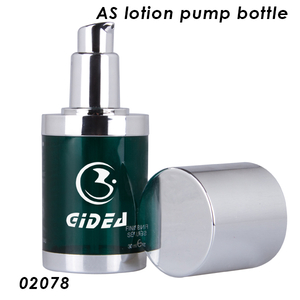 30ML 50ML Cosmetic AS Plastic Bottle