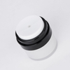 15ml 30ml White Acrylic Airless Jar with Flip Cap