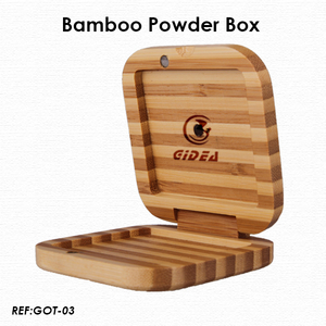 Bamboo Eyeshadow Cases