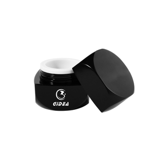 5g Black Square Acrylic Cosmetic Cream Jar Short Delivery