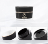 Black Color V-shape 3g Acrylic Cosmetic Jar