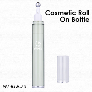 7.5ml 15ml Plastic Cosmetic Eye Serum Roll On Bottle