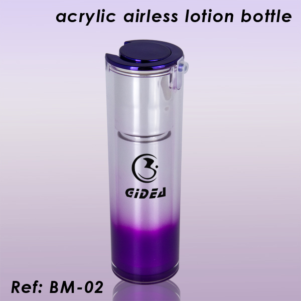 15ml 30ml 50ml Round Acrylic Lotion Bottle