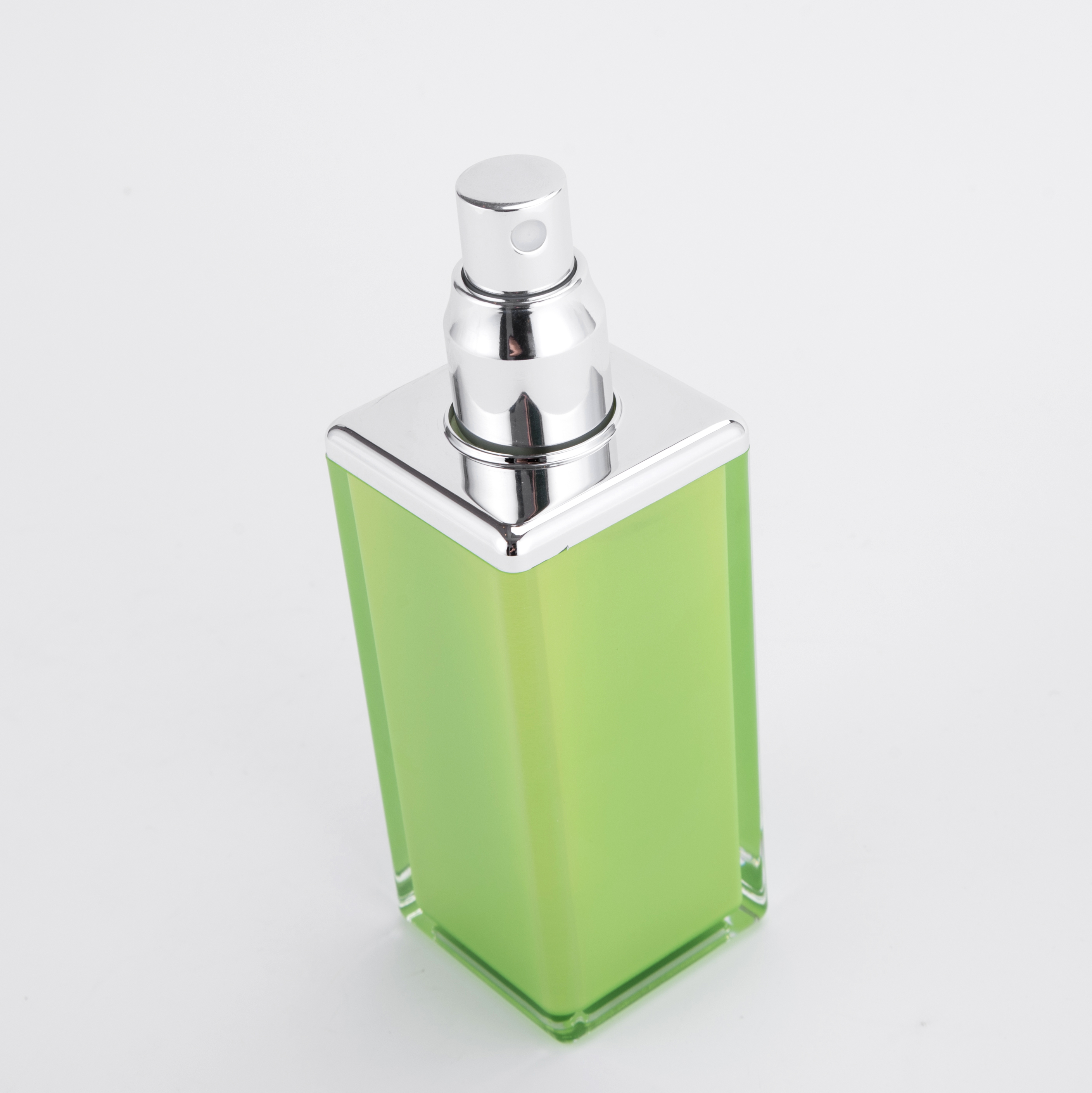15ml/30ml/50ml/100ml Square Acrylic Serum Pump Bottle