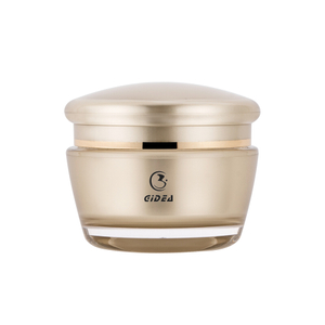 15g 30g 50g 150g Eco Sub gold color PMMA Face Cream Jar