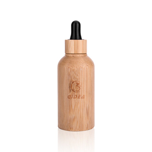 15ml 30ml 50ml Bamboo Cosmetic Essential Oil Bottle Packaging With Dropper