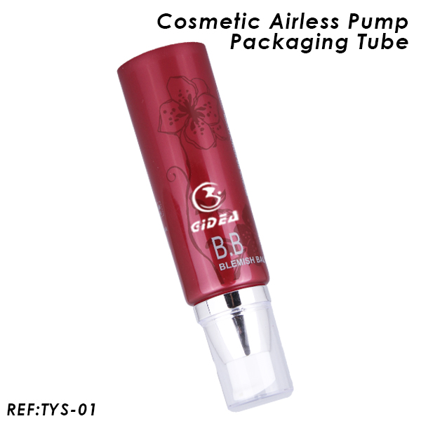 40ml Round Cosmetic Airless Pump Tube