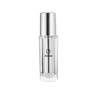 15ml 30ml 40ml 50ml 80ml 100ml PMMA Plastic Cosmetic Bottle Transparent